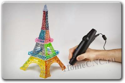 строим с помощью 3D ручки