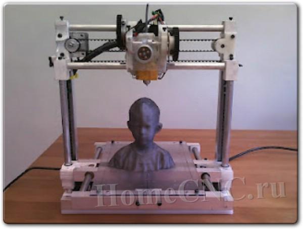 Самодельный 3D принтер на китайской электронике