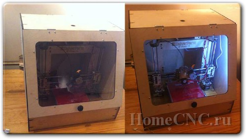 чертежи 3D принтера Prusa I3
