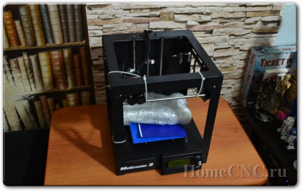 Обзор 3D принтера MeCreator 2