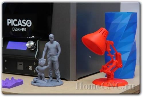Обзор 3D принтера Picaso 3D Designer