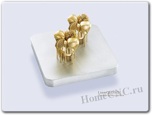 Ювелирный 3D принтер печатает золотом