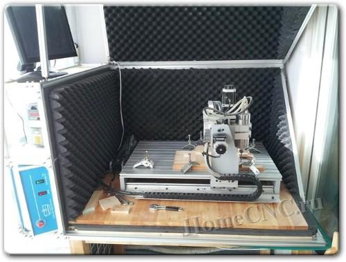 как сделать шумоизоляцию ЧПУ станка и 3D принтера своими руками