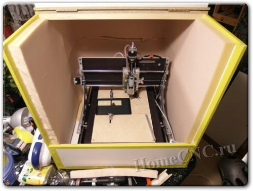 делаем шумоизоляцию ЧПУ станка и 3D принтера