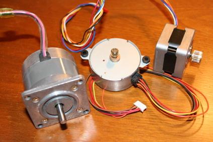 Шаговые двигатели для самодельного ЧПУ станка