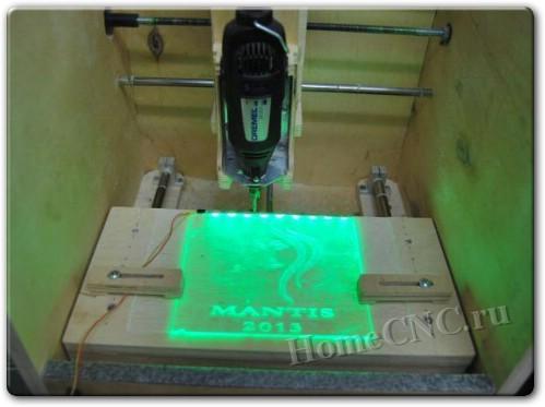 ЧПУ станок своими руками из принтеров
