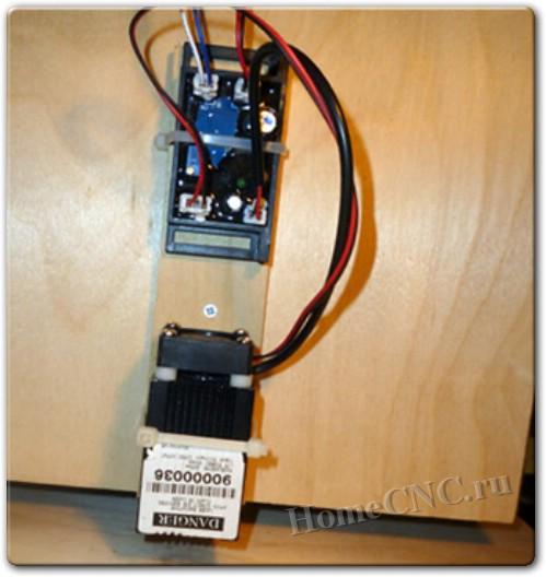 Самодельный лазерный гравер на базе ЧПУ станка