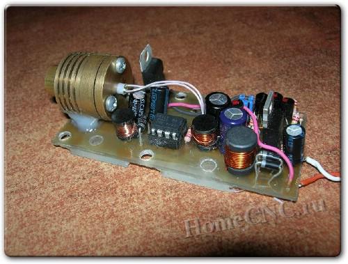 Самодельный лазерный ЧПУ гравер