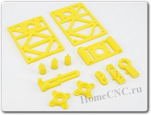 детали ЧПУ станка для раскраски елочных игрушек