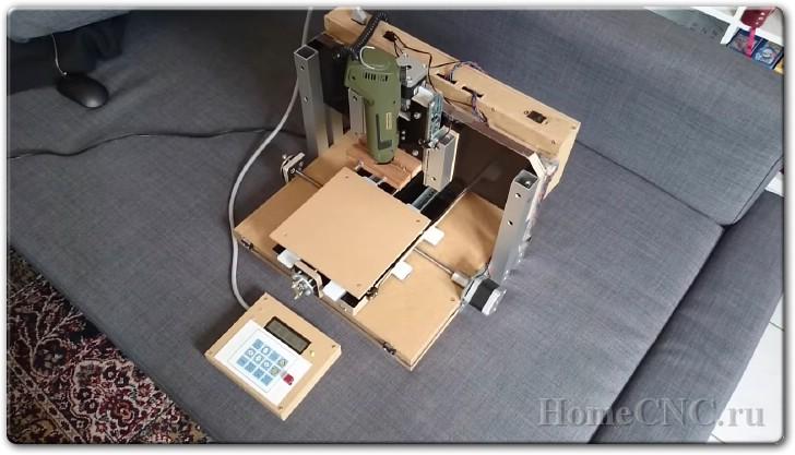 Как сделать самодельный ЧПУ станок своими руками