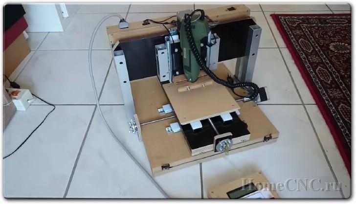 Как сделать самодельный ЧПУ станок