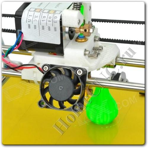 печатная головка 3D принтера Heacent RepRap Prusa Mendel 3DP02 - набор для сборки 3D принтера своими руками