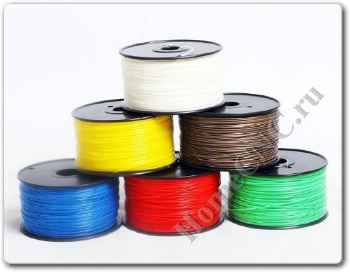 pla и abs пластик для 3D принтера