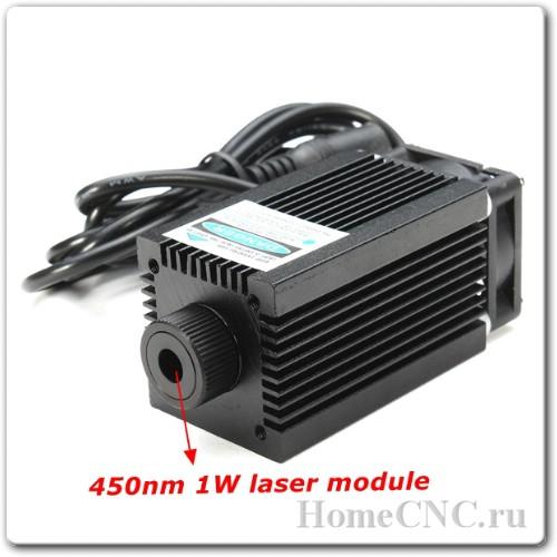 лазер для ЧПУ станка 1000 мВт