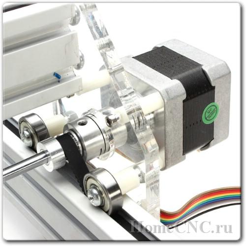 мотор на ЧПУ станке 500mW Desktop DIY Violet Laser