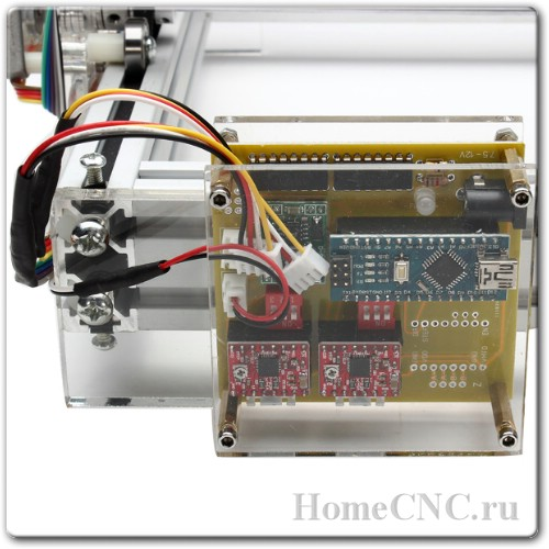 электроника на ЧПУ станке 500mW Desktop DIY Violet Laser