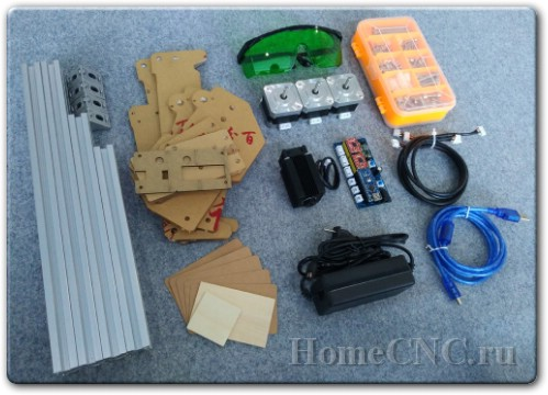 обзор лазерного гравера 5500mw A5 Mini Laser Engraving Machine