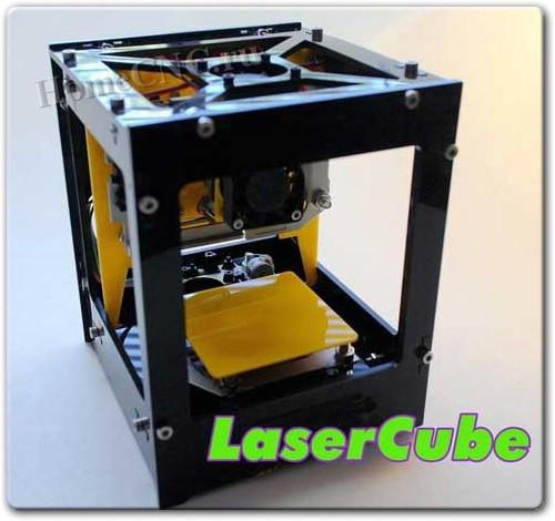 Лазерный гравер на ЧПУ Laser Cube
