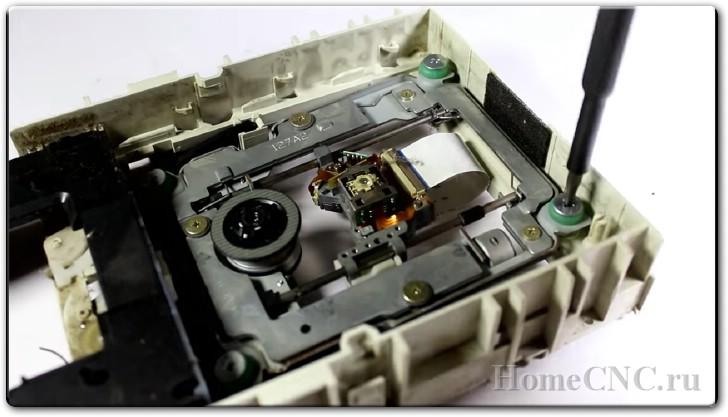 Самодельный лазерный мини ЧПУ станок