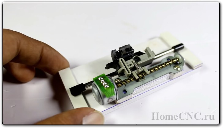 Лазерный мини ЧПУ станок своими руками