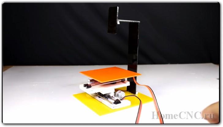 Лазерный мини ЧПУ станок