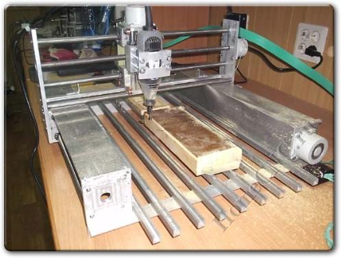 Самодельный ЧПУ станок из металла