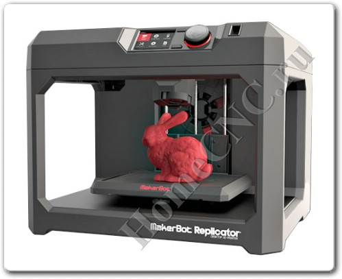Новая версия 3D принтера MakerBot Replicator