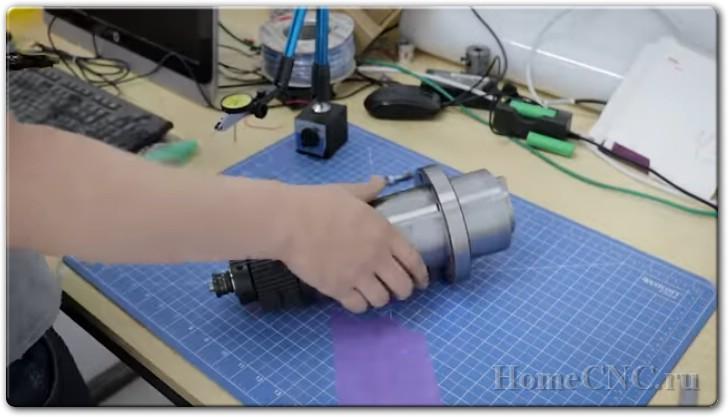 Самодельный ЧПУ фрезер по металлу