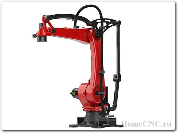 Промышленный робот для лазерной обработки деталей