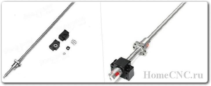 Шарико-винтовая передача SFU1605 из Китая: собираем большой ЧПУ фрезер