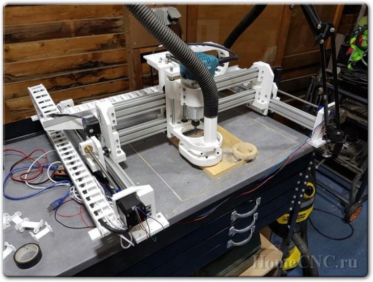 ЧПУ станок на 3D принтере