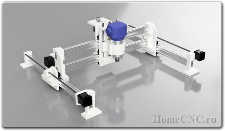 чертежи ЧПУ станка на 3D принтере