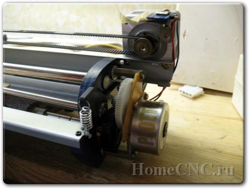как сделать самодельный плоттер