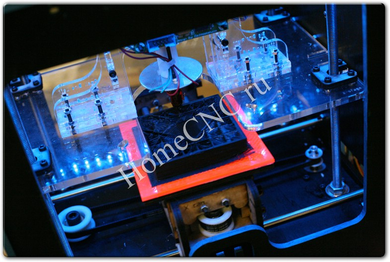 механика 3D принтера Cupcake