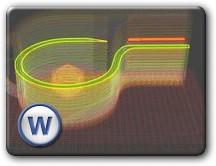 модель свистка для 3D принтера Cupcake