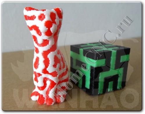 Модели напечатанные на Duplicator 4 Wanhao