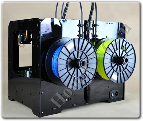 Обзор 3D принтера Duplicator 4 Wanhao