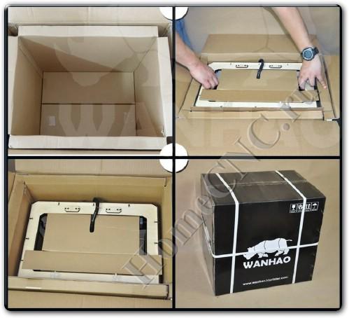 Доставка и упаковка Duplicator 4 Wanhao
