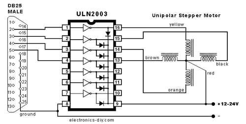 Схема электроники для
