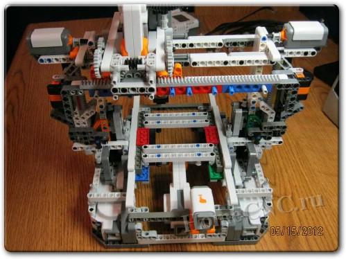 ЧПУ станок из Lego Mindstorms