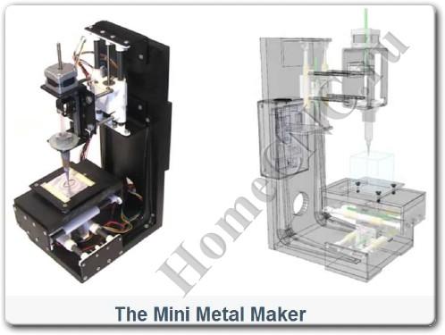 Mini Metal Maker - 3D принтер по металлу