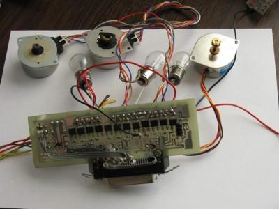 Самодельный контроллер для ЧПУ станка